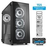 Sharkoon TG5 ATX Beyaz USB3.0 4XLed Fan Kasa