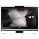 MSI AIO PRO AA8C-102TR-X 19.5 HD+ (1600X900) NON-TOUCH I3-7100 4G 1TB DOS DVD