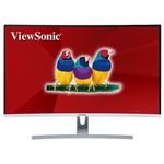 Viewsonic 32 VX3217-2KC-MHD KAVİSLİ CURVED 1800R WQHD VA PANEL 5MS 75HZ HDMI+DP HOPARLÖR İNCE