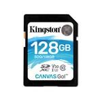 Kingston 128GB SDXC Canvas Go 90R 45W CL10 U3 V30