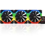Power Boost HALODUALKIT12 Power Halo-Dual Rings 7 color 3xRGB Fan 1xFan Control
