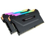 Corsair Vengeance RGB Pro Black 2x8GB CL15 DDR4 Bellek (CMW16GX4M2C3000C15)