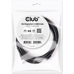 Club 3D CAC-2161 2 Metre Mini DisplayPort - Display Port Kablo