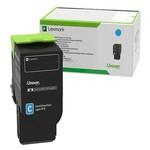 Lexmark 80C8HCE Cx410cx510 Mavi 3000 Sayfa Return Toner