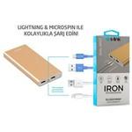 S-Link S -LINK IRON 10000mAh Powerbank Gold Taşınabilir Pil Şarj Cihazı