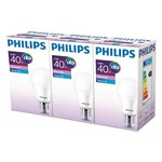 Philips ESS LED 5.5-40W Beyaz Işık Normal Duy 3'lü Ekopaket