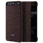 Huawei P10 Plus Smart View Kapaklı Kılıf - Kahve (51991875)