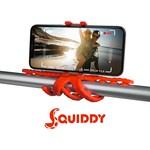 Celly SQUIDDYRD Squiddy Esnek Mini Tripod - Kırmızı
