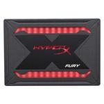 "Kingston 480GB HyperX Fury SHFR SSD SATA 3 2.5"" RGB"