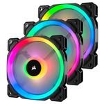Corsair CO-9050072-WW LL120 RGB 120mm DUAL LIGHT LOOP RGB LED PWM FAN 3 FAN PACK