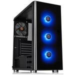 Thermaltake V200TG RGB 3 Fanlı Siyah MidTower Oyuncu Kasası (PSU yok)