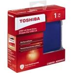 Toshiba Canvio Advance 1TB Taşınabilir Disk - Mavi (HDTC910EL3AA)