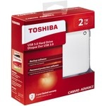 Toshiba Canvio Advanced 2TB Taşınabilir Disk (HDTC920EW3AA)