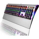 """GameBooster Gb-g9 G9 """"blade"""" Rainbow Rgb Aydınlatmalı Bileklikli Aluminyum Mekanik"""