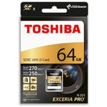 Toshiba Thn-n501g0640e6 64gb Sdxc Uhs-ıı U3 270/250 (excerıa Pro)
