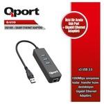 Q-Port Q-u3g 3xusb 3.0 Çoklayıcı+gig. Ethernet Adap