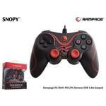 Snopy Sg-r601-k Rampage Sg-r601 Ps3/pc Kırmızı Usb 1.8m Joypad