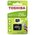 Toshiba 256gb Micro Sdxc Uhs-1 C10 Thn-m203k2560ea