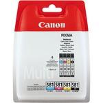 Canon Clı-581 C/m/y/bk Multıpack 2103c004