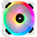 Corsair Co-9050091-ww Ll120 Rgb 120mm Dual Lıght Loop Rgb Led Pwm Whıte Fan