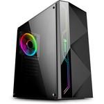 GameBooster Gb-g3605b Usb3.0 Siyah Rainbow Rgb Steel Led Strip Kasa (psu Yok)