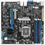 Asus P11c-e/4l Intel C246 Lga1151 Ddr4 2666 Vga Çift M2 + 8 Sata Usb3.1 4 Adet Lan