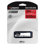 Kingston 500gb A2000 Nvme M.2 Sa2000m8/500g