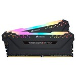 Corsair Vengeance RGB Pro Black 16GB DDR4-3600 CL18 RAM (CMW16GX4M2Z3600C18)