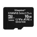 Kingston 16GB Canvas Select Plus MicroSDHC + Adaptör (SDCS2-16GB)