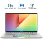 """Asus S432fl-eb088t Vivobook S14 Intel Ci5-10210u 4.20 Ghz 8gb 256gb Ssd 2gb 14"""" Win"""