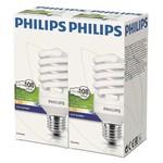 Philips Twister 23w E27-6500k 2'li Beyaz Ekopaket