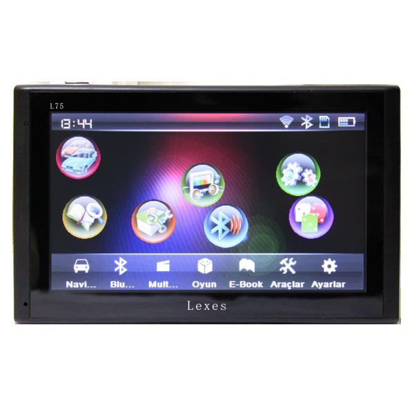 Lexes L75 NAVİGASYON 5 İNÇ TÜRKÇE MENÜLÜ Araç Navigasyonu