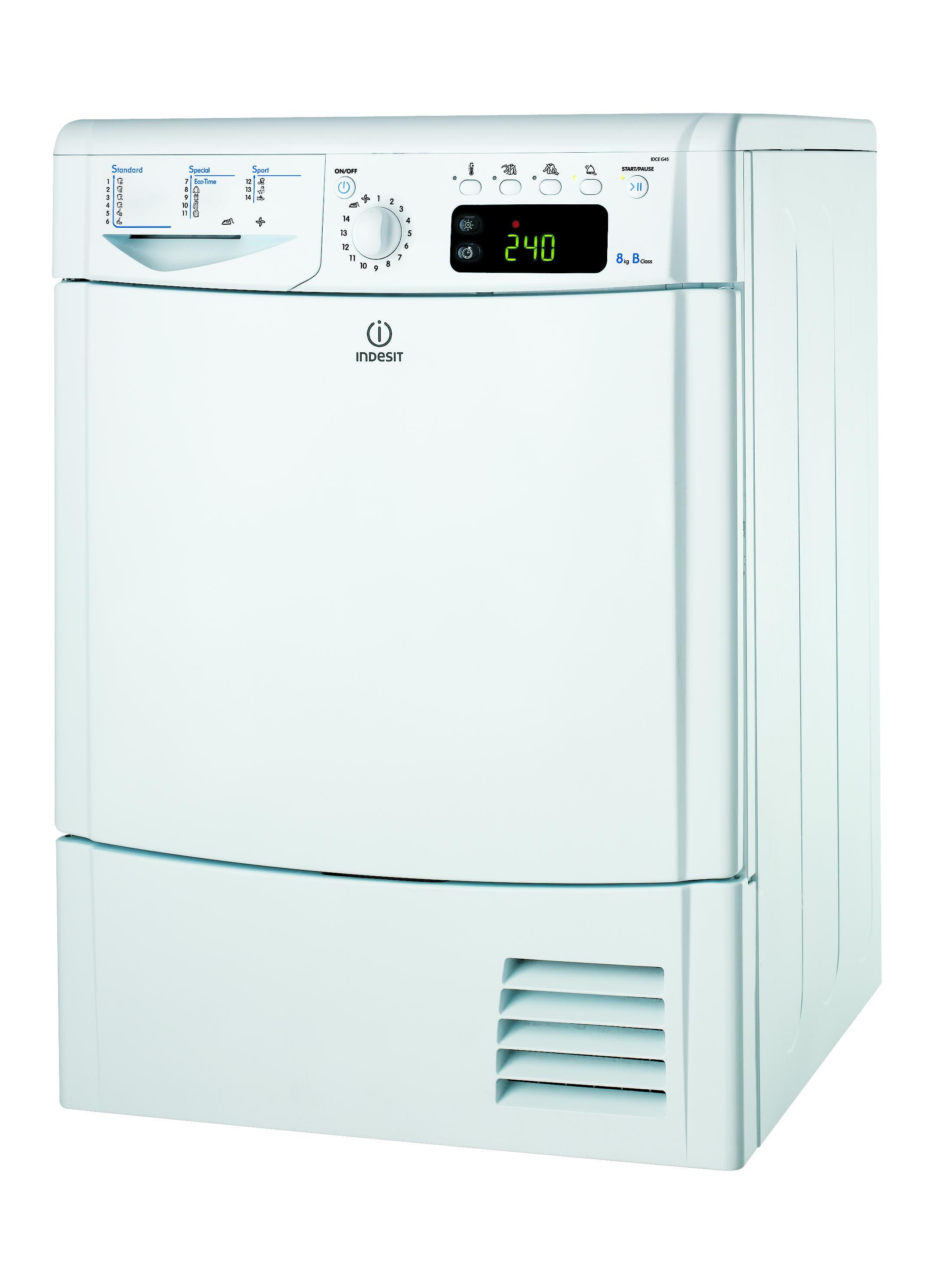 Indesit IDCE G45 B (EU) KURUTMA MAKİNESİ Çamaşır Makinesi