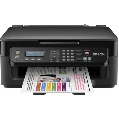 Epson C11CC58303 WorkForce WF-2510WF, A4 all-in-one, Scan/Print/Copy/Fax functions; 4 new Mürekkep Püskürtmeli Yazıcı