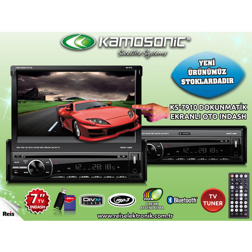 Kamosonic KS-7910 Araç İçi Kamera